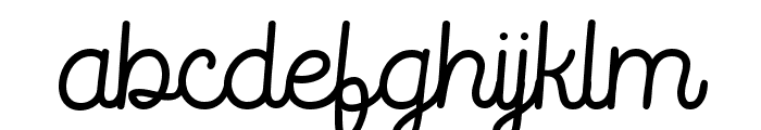 RouterlineFreeVersion Font LOWERCASE