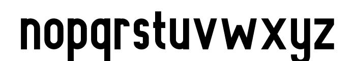 Rowland Bold Font LOWERCASE