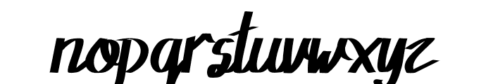 Rowland Caligraphy Font LOWERCASE