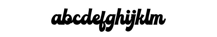 RoxinateDEMO-Bold Font LOWERCASE
