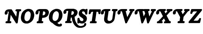 Royal Acidbath Font UPPERCASE