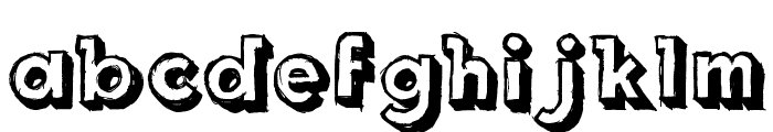 Royal Delight Shad Font UPPERCASE