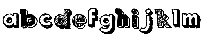 Royal Delight Font LOWERCASE