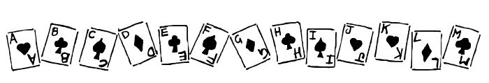 Royal Flush _ Basic Regular Font LOWERCASE