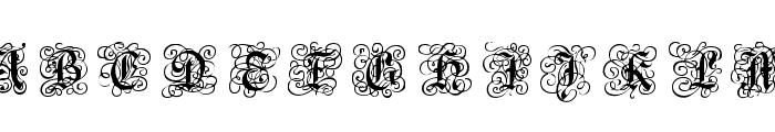 RoyalGothic Font UPPERCASE