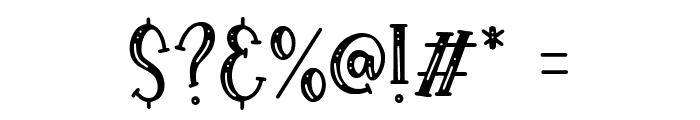Royalbean Font OTHER CHARS