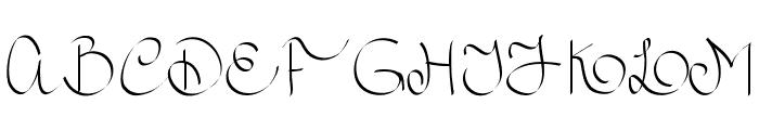 RoyalnCurvy Font UPPERCASE