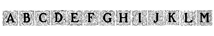 Roycroft Initials Font UPPERCASE