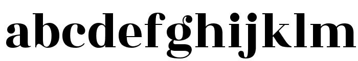 Rozha One Font LOWERCASE
