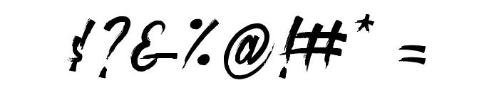 roastinkdemo Font OTHER CHARS