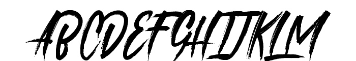 roastinkdemo Font UPPERCASE