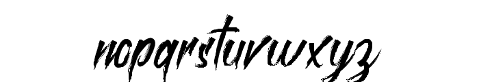 roastinkdemo Font LOWERCASE