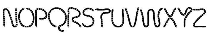 robalek Font UPPERCASE