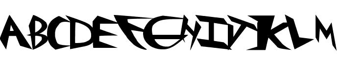 rockster Font UPPERCASE