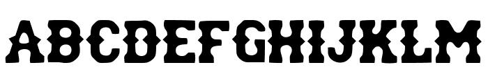 rodriguez Font UPPERCASE