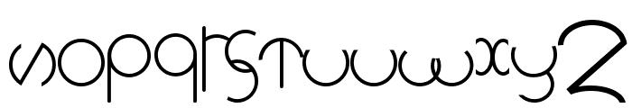 rollingdeep Font LOWERCASE