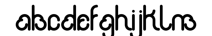 rondi Font LOWERCASE