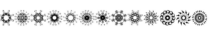 rosette110621 Font LOWERCASE