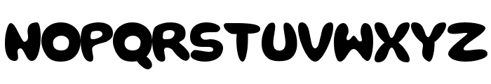 rough Bold Font LOWERCASE