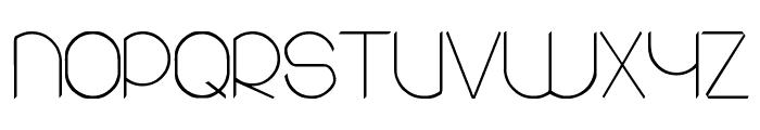 round Font UPPERCASE