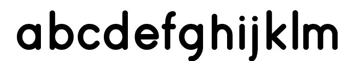 roung Font LOWERCASE