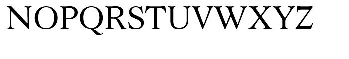 Robertson Regular Font UPPERCASE