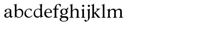 Robertson Regular Font LOWERCASE