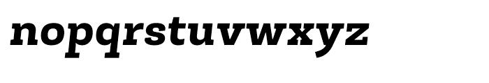 Roble Extra Bold Italic Font LOWERCASE