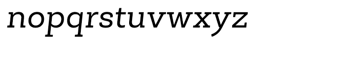 Roble Italic Font LOWERCASE