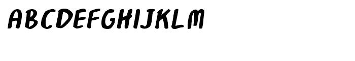 Robolt Hand Italic Font UPPERCASE