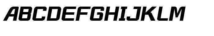 Robustik Bold Italic Font UPPERCASE