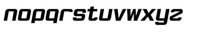 Robustik Bold Italic Font LOWERCASE