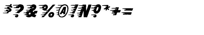Rocketship From Infinity Regular Font OTHER CHARS