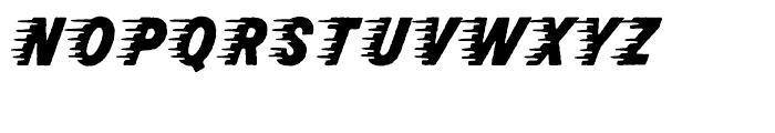 Rocketship From Infinity Regular Font UPPERCASE