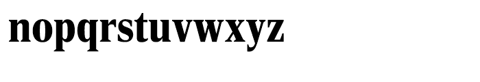 Rocky Extra Condensed Black Font LOWERCASE