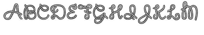 Rodeo Roundup Regular Font UPPERCASE