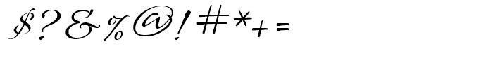 Roelandt BT Regular Font OTHER CHARS