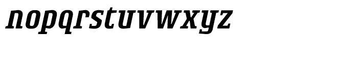 Rogue Serif Medium Italic Font LOWERCASE