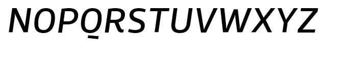 Roihu Medium Italic Font UPPERCASE