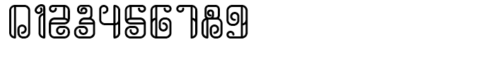 Rollover Outline Font OTHER CHARS