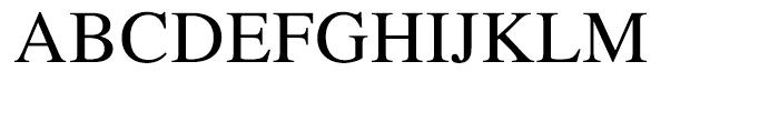 Roman SC Font UPPERCASE