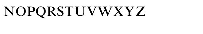 Roman SC Font LOWERCASE