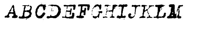 Romanstone One Oblique Font UPPERCASE