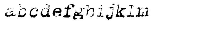 Romanstone One Oblique Font LOWERCASE