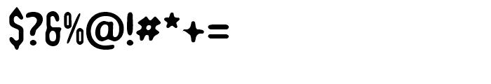 Romantico Regular Font OTHER CHARS