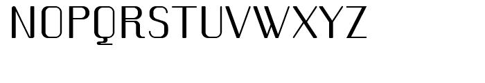 Romero Regular Font UPPERCASE