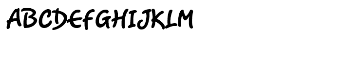 Romy Regular Font UPPERCASE