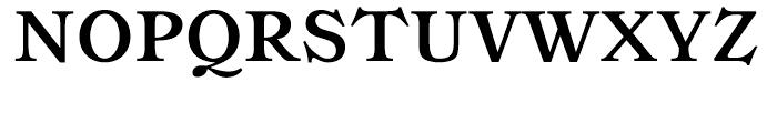 Ronaldson Bold Font UPPERCASE