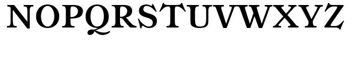 Ronaldson SC Bold Font UPPERCASE