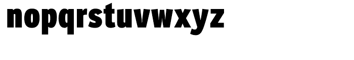 Ronnia Condensed Heavy Font LOWERCASE